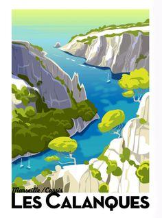 Monsieur Z - French Illustrator Retro Poster, Poster Ads, Vintage Images, Vintage Art, Design Vintage, Vintage Logo, Vintage Style, Tourism Poster, Kunst Poster