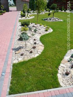 Beautiful Flowers Garden, Vegetable Garden Design, Lawn, Landscape, Outdoor Decor, Home, Gardens, Townhouse, Decorative Pebbles