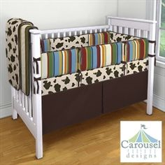 Carousel Designs Custom Baby Bedding....for the boy cowboy room