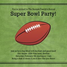 Super Bowl Party Activities for Kids from Purple Trail
