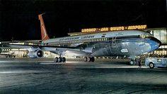 South African Airways (SAA) Boeing 707 at Jan Smuts Airport, Johannesburg