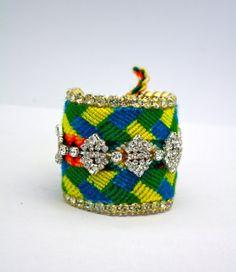 Vinur - Double Row Friendship Bracelet by Doloris Petunia