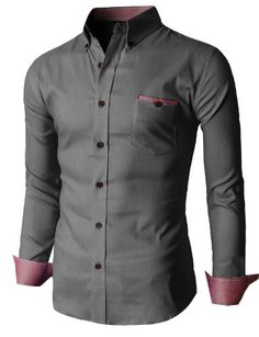 H2H Men'S Oxford Shirts With Color Point Pocket CHARCOAL US XS/Asia M (KMTSTL0201) H2H http://www.amazon.com/dp/B00IWPJFTW/ref=cm_sw_r_pi_dp_FoYlub0ACPGNR