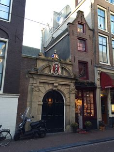 Smallest House in Amsterdam in Amsterdam, Noord-Holland