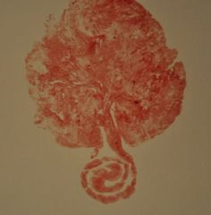 placenta print.....I was hoping this was a joke...nope