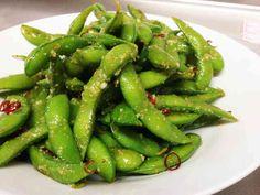 枝豆で簡単おつまみ♪ペペロンビーノ♡の画像