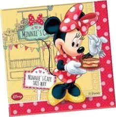 Parti Beta - Minnie Mouse Cafe Kağıt Peçete #minnie #mouse #napkins