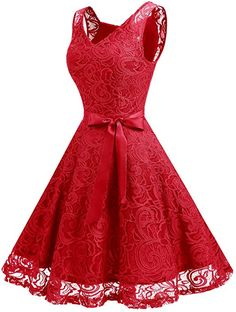 Dressystar Women Floral Lace Bridesmaid Party Dress Short Prom Dress V Neck - Dresses - Apparel - Frequently updated comprehensive online shopping catalogs Dresses Elegant, Lace Party Dresses, Party Dresses For Women, Beautiful Dresses, Vintage Dresses, Girls Dresses, Mini Dresses, Lace Bridesmaid Dresses, Homecoming Dresses
