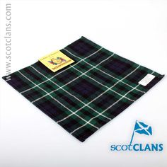 Graham Tartan Pocket Square. Free worldwide shipping available