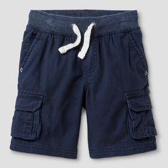 Toddler Boys' Cargo Shorts - Cat & Jack Navy, Size: 5T, Blue
