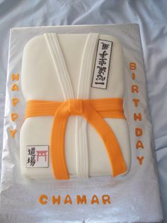 Karate Birthday Cake  on Cake Central
