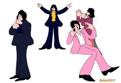 Beatles as imagined in a Yellow Submarine sequel