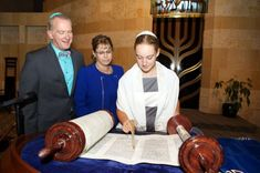 A Jewish girl celebrates her Bat Mitzvah, the ceremony in which Jewish children become obligated to observe the commandments. The first Bat Mitzvah in the United States was in 1922. The trailblazer was the daughter ofmore...