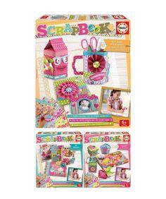 #Scrapbook, despierta el #DIY en los niños #juguetes #educa #manualidades