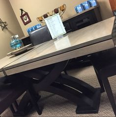 Two Tone Tables Are Now Trending