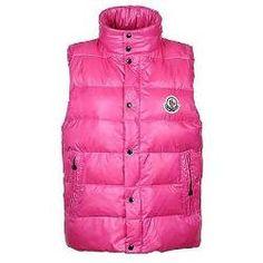 Clairy Moncler Mujeres Abajo España chaleco chaqueta de color r