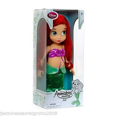 DISNEY ANIMATORS COLLECTION THE LITTLE MERMAID PRINCESS ARIEL TODDLER DOLL BNIB