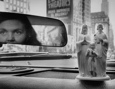 Plastic Saints used on the Dash Boards of Autos, by Walter Sanders (1958)