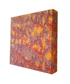 Textile Art Screenprint Abstract Texture by Tania Bishop Artisan