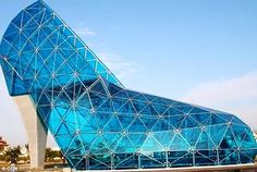 Welcome to BACE Adventures!!!: TAIWAN CHURCH built in the shape of a Giant High H...