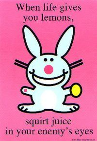 Oh Happy Bunny, you just kill me : )