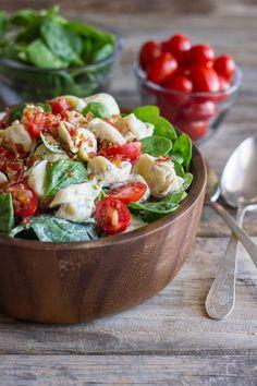 BLT Pasta Salad by lovelylittlekitchen #Salad #Pasta #BLT