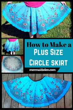 How to Make a Plus Size Circle Skirt