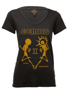 Sheehan & Co. Womens #Gemini Zodiac Tee