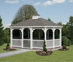 Vinyl Rectangular Gazebo - We delivery fully assembled gazebos throughout eastern Ontario and Quebec. Visit us online for fully price list ncsshelters.com