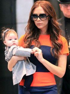 Most #Stylish Celebrity #Babies Harper Beckham