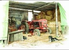 Marcus' Barn Prints sold out long ago