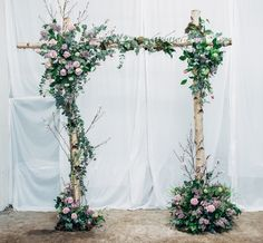 Wedding Wednesday : Flower School Glasgow - Large Structures Course | Part 2…