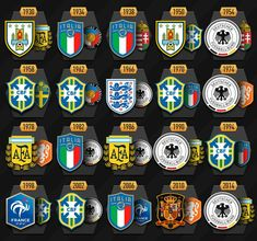 All finals of World Championships! #worldcup #fifaworldcup #worldcup2018 #wc2018 #soccer #football #futbol #team #sports #fifa #rof355