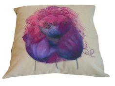 Tulipany+recznie+malowane+45x45+w+W.pelni+Design+na+DaWanda.com