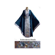 FINE CHINESE CLOTHING - Men Han Fu/Hanfu Clothes - Chinese Men's... ($359) ❤ liked on Polyvore