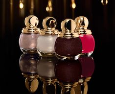 Diorific Golden Shock Holiday 2014 nail polish collection