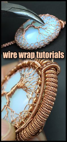 Pendants Tree of Life, Wire wrap tutorials, Wire wrap, wire wrapped, Wire jewelry, handmade, craft, wire work, Handmade jewelry, Wire wrapped jewelry, wire wrapping, metal work, jewelry, wire wrapped pendant, wire necklace, wire weaving, wire work, copper wire jewelry