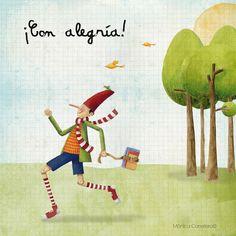 ... con alegría            Monica Carretero