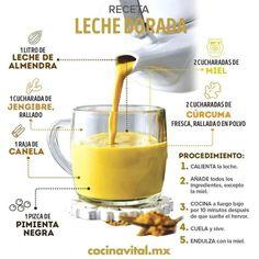 Healthy Juices, Healthy Drinks, Healthy Cooking, Healthy Tips, Healthy Snacks, Healthy Eating, Cooking Recipes, Healthy Recipes, Golden Milk