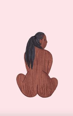 """These Illustrations Transform the """"Forbidden"""" Aspects of Women's Bodies into an Empowering, Insta-Friendly Sensation"""