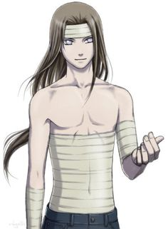 Neji's just like 'can you help me with these bandages?'.......YES!