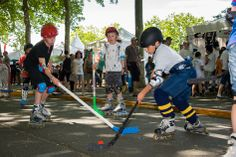 L'occasion de découvrir des sports très variés, comme le #rollerhockey... (Photo: Patrice Campion/Ville d'Angers)