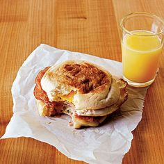 Ham and Swiss Egg Sandwiches by Cooking Light