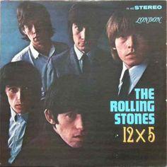 Rolling Stones 12 x 5 by BinaDella on Etsy