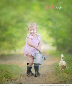 Easter Photo Session Ideas -  Portrait Photography by Jinky Art via  iHeartFaces.com
