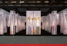 Kartell Fragrances a Parigi Stand by Ferruccio Laviani