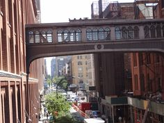 View from HighLine in NYC