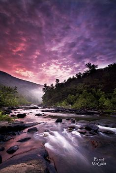 ☀Goshen Pass Maury River  Rockbridge Baths, VA ~ Redemption by Brent McGuirt Photography *