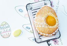 Osterei mit Marillen #Osterbäckerei