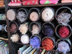 Sew Many Ways...: Tool Time Tuesday...French Drain Organization